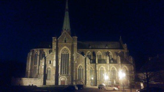 Abbaye de Val-Dieu : Abbey of Val Dieu by night!