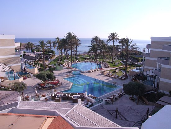 Constantinou Bros Asimina Suites Hotel: View from room 405