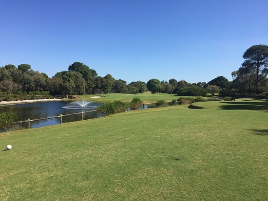 Como, Australië: Collier Park Golf Course