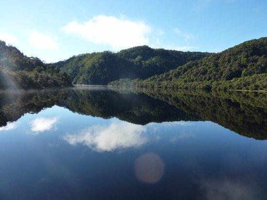Strahan, Australia: Gordon river reflections