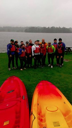 Bowness-on-Windermere, UK: Before the off