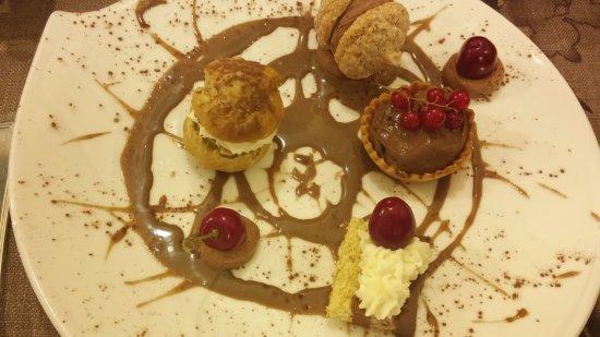 L'Amaranthe : dessert tout chocolat