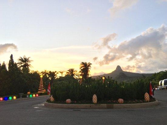 Howard Beach Resort Kenting: 大廳門口前
