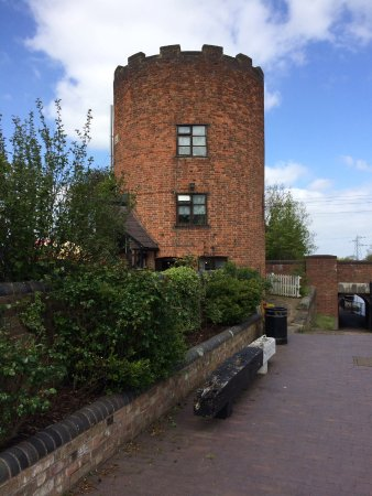 Middlewich, UK: Round house