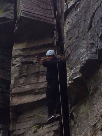 Craggan Outdoors: Huntley Cave climb