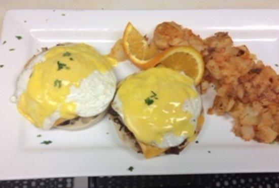 Dover Plains, Estado de Nueva York: Irish Eggs Benedict