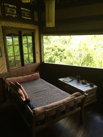 Bali Eco Stay Bungalows: Inside the Little Padi room.