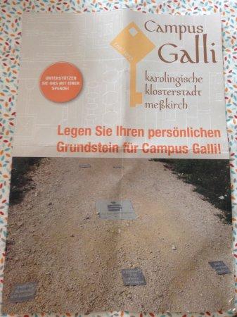 Messkirch, Alemania: Persönlicher Grundstein möglich