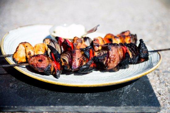 Beesands, UK: Josper Grilled Kebab