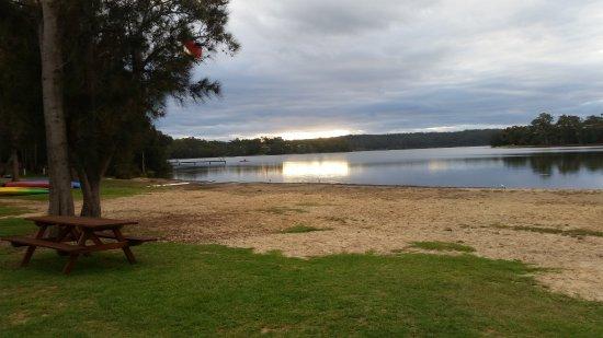 Bermagui, أستراليا: Wallaga Lake Burmagui Big4, Great location 