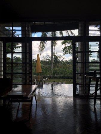 Chapung SeBali Resort and Spa: Blick aus dem Zimmer.