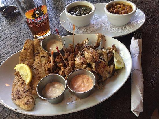 Braden River Platter Linger Lodge Restaurant Bradenton Fl