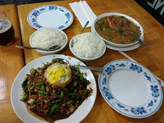 Burbank, IL: Food at Spicy Thai Lao
