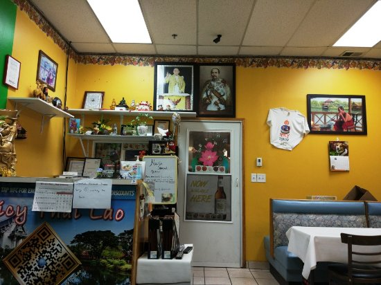 Burbank, IL: Spicy Thai Lao interior