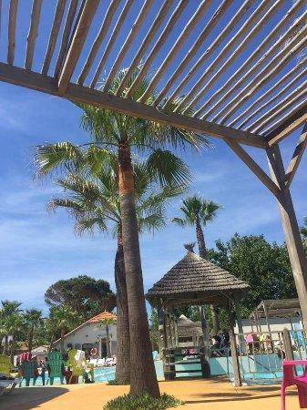 Luna park marseillan plage webcam