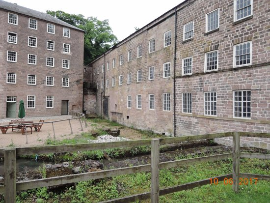 Cromford Mill buildings