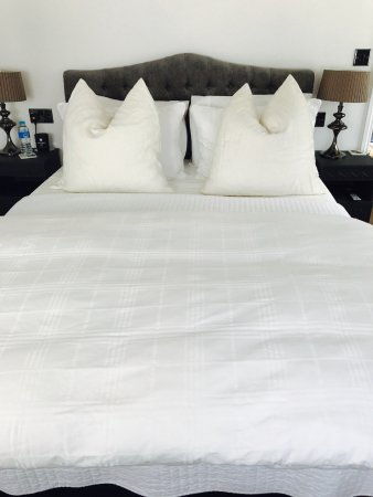 Hildersham, UK: luxury linens