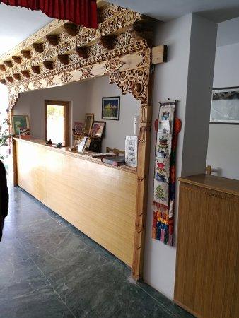 Ratna Hotel Ladakh: Reception