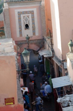 Riad Ineslisa: view from roof terrace