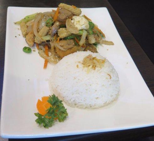 Subiaco, Australia: Tofu & Veg (Wok Fried)