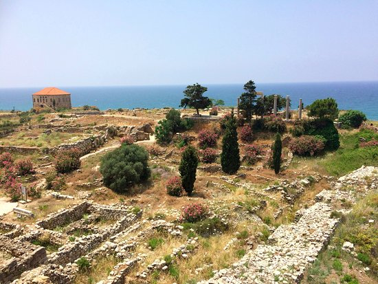 Byblos, Líbano: View across the site