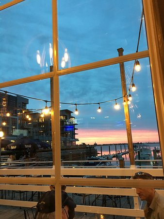 Quincy, MA: View from our table