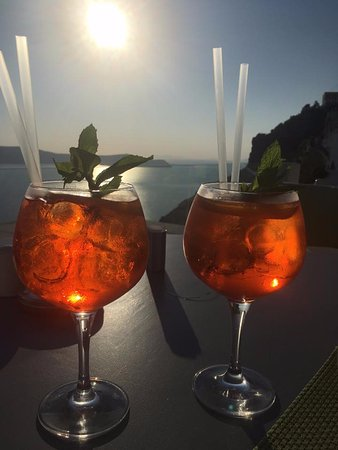 Character Italian Restaurant & Lounge Bar : Aperol Spritz at Sunset