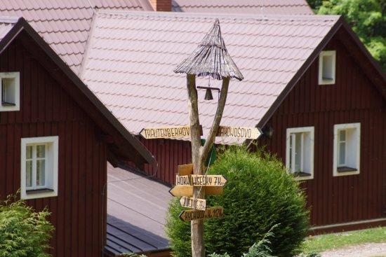 Vitkovice, Czech Republic: rozcestník - chata Tereza