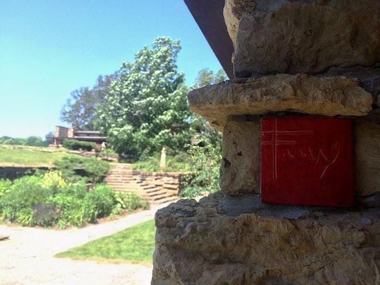 Taliesin Preservation: FLW signature tile