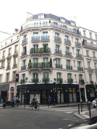 fachada picture of hotel 34b astotel paris tripadvisor. Black Bedroom Furniture Sets. Home Design Ideas