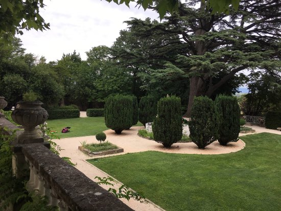 Chateau de Varenne: view from our room