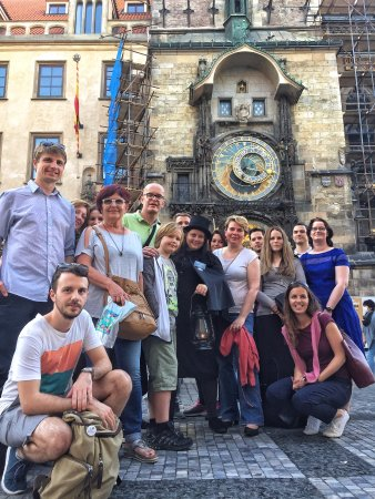 McGee's Ghost Tours of Prague: nice ghosts & legends tour 2017