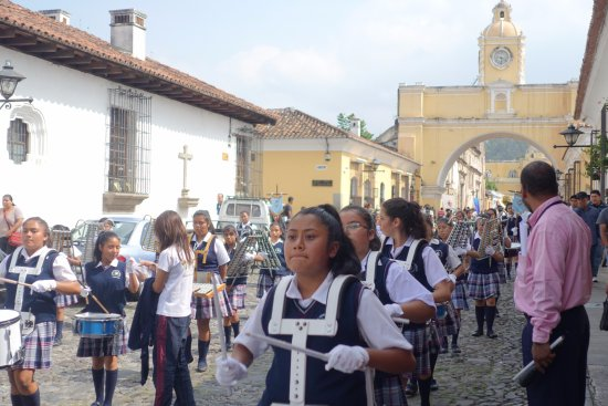 Gray Line Guatemala: Antigua during my tour