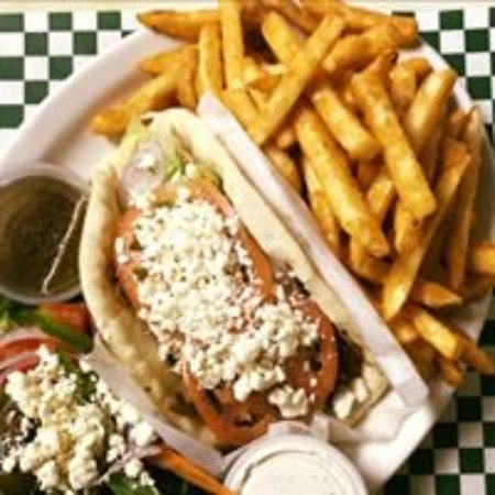 Okemos, MI : gyro, anyone?