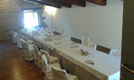 Camerino, Italien: Interno Ristorante