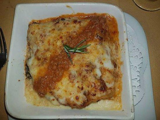 Mediterraneo Ristorante: La lasagne alla Bolognese