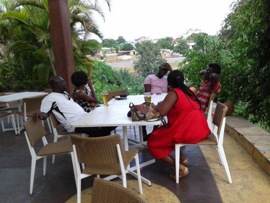 Aburi, Ghana: A LUNCH TREAT WITH MY FAMILY