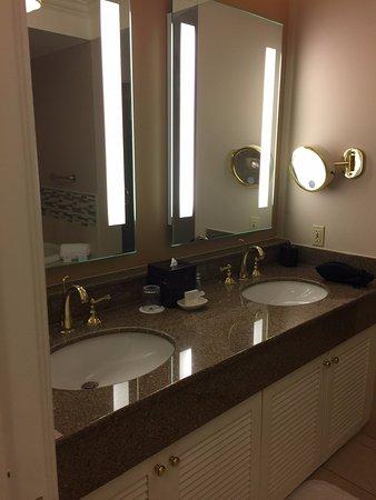 Bathroom Sinks Las Vegas dual sinks - picture of jw marriott las vegas resort & spa, las