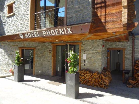 Hotel Phoenix: Eingang Hotel