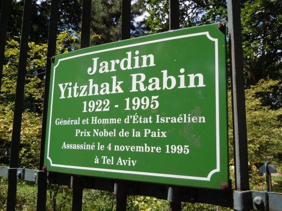 Jardin hitzhak rabin photo de parc de bercy paris for Jardin yitzhak rabin