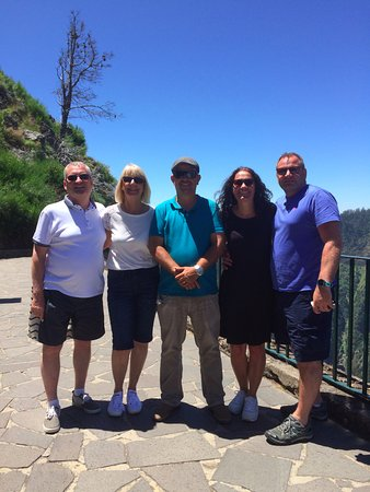 Arco da Calheta, Portugal: View Point looking out over Nuns Valley