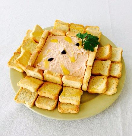 Todoque, Spanien: Paté de queso crema (opcional por encargo).