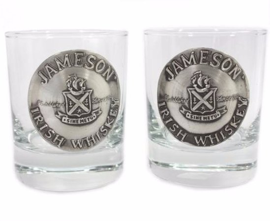 Biddy Murphy: Irish Whiskey Jameson Glasses and lots of unique barware items!