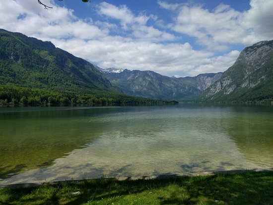 Srednja vas v Bohinju, Slovenya: Bohinjsko jezero lake
