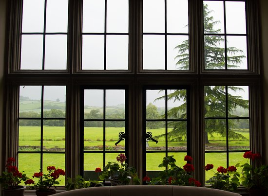 Llyswen, UK: View from the parlor