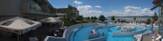 Velence Resort & Spa: Panoráma