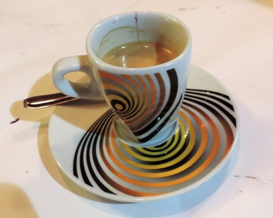Les Adrets: A jazzy coffee to finish