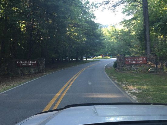 Dawsonville, Джорджия: Park Entrance