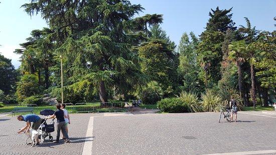 I Giardini Centrali di Arco: VISTA DAL CENTRO