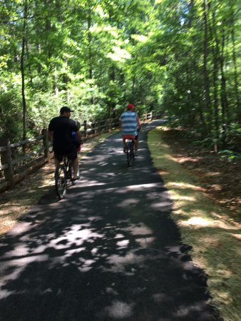 Bike adventure picture of callaway gardens pine mountain tripadvisor for Callaway gardens treetop adventure